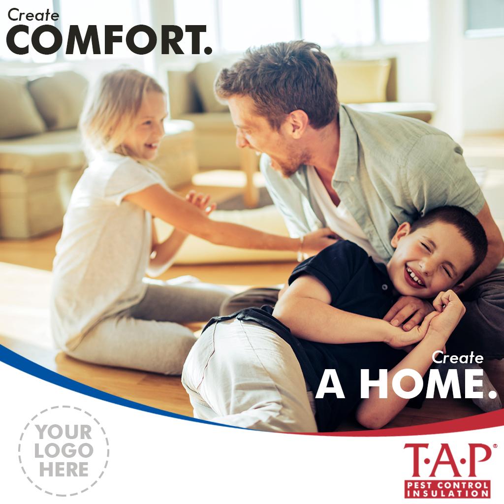 Social Media - Create Comfort. Create a Home. v1