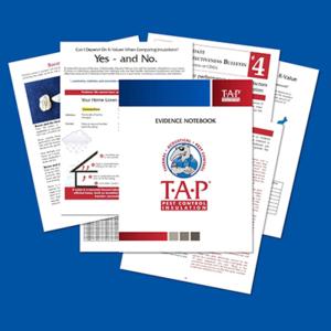 TAP® Evidence Notebook