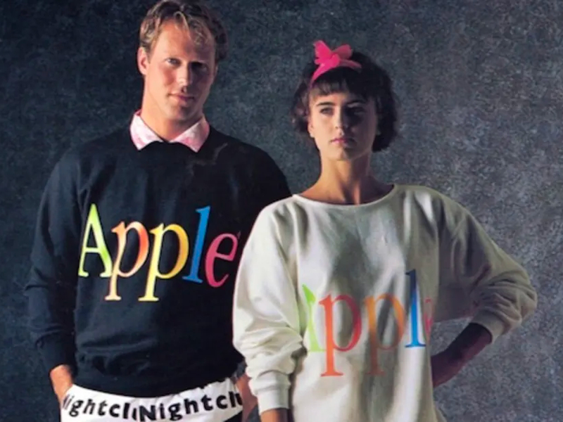 Trivia: Apple Clothing Line