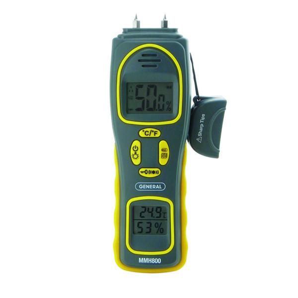 Pin/Pinless Moisture Meter MMH800
