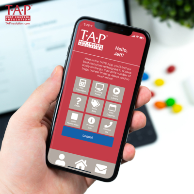 Phone with TAP® App