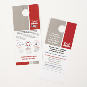 TAP® Door Hanger —Reduce Energy Bills